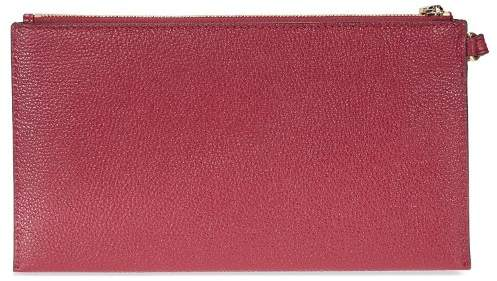 Michael Kors Mercer Leather Wristlet - Mulberry - 32F6GM9W3L-666 - AS SHOWN - STYLE