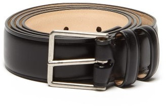 Paul Smith Double Loop Leather Belt - Mens - Black