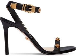 Versace 95mm Studded Leather Sandals