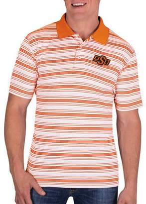 NCAA Oklahoma State Cowboys Men's Classic-Fit Striped Polo Shirt