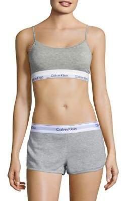 Calvin Klein Underwear Modern Cotton Skinny Strap Bralette