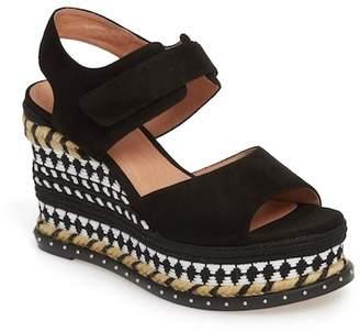 Caslon Braxton Platform Wedge Sandal (Women)