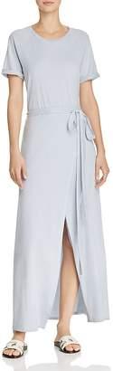 Elizabeth and James Welles Faux-Wrap Maxi Dress