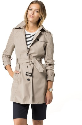 Heritage Single Breasted Trench $275 thestylecure.com