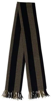 Acne Studios Virgin Wool Strip Shawl