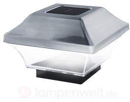 LED-Pfostenkappe Yohanna mit Solarbetrieb