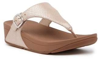 FitFlop The Skinny Snake Print Thong Sandal