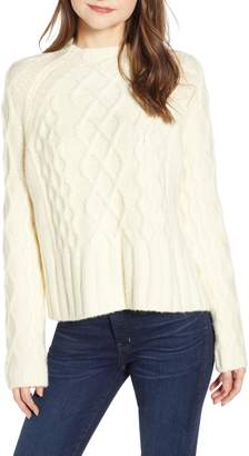 Whistles Modern Cable Knit Sweater