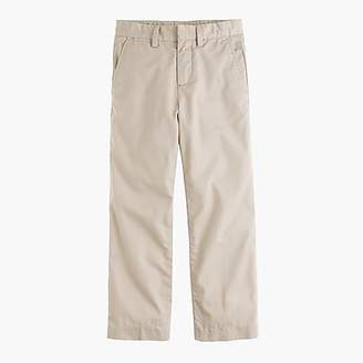 J.Crew Boys' lightweight chino pant in straight fit