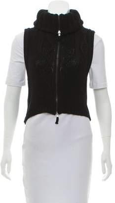Jean Paul Gaultier Zip-Up Knit Vest