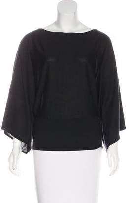 Ralph Lauren Black Label Long Dolman Sleeve Top