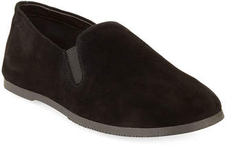 The Row Gonfu Suede Slip-On Flat