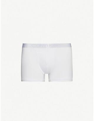 Calvin Klein Luxe Modal stretch-cotton trunks