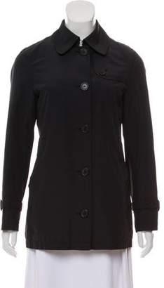 Burberry Nova Check-Lined Lightweight Jacket
