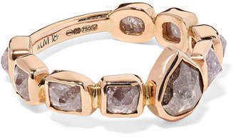 Melissa Joy Manning 18-karat Rose Gold Diamond Ring