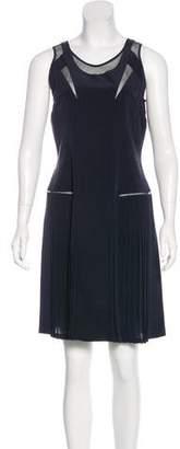 Victoria Beckham Victoria, Silk Sleeveless Dress