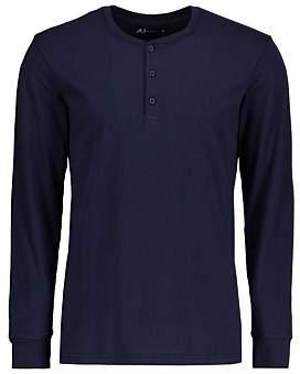 AU Essentials Henley Cotton Sleep T-Shirt
