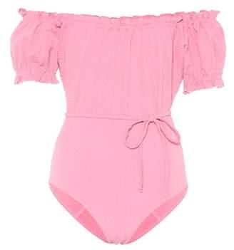 Lisa Marie Fernandez Leandra one-piece swimsuit