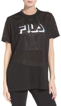 Women's Fila Liona Mesh Tee $50 thestylecure.com