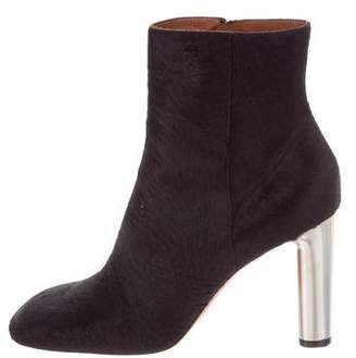 Celine Ponyhair Ankle Boots