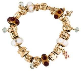 Pandora 14K Charm Bracelet