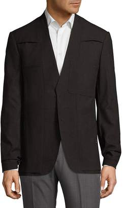 Maison Margiela Men's V-Neck Wool Sportcoat