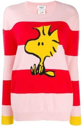 Parker Chinti & striped snoopy jumper