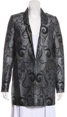 Alice McCall Metallic Embroidered Short Coat