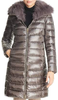 9ae3053dd0c32 Herno Fox Fur Neck Nylon Down Coat