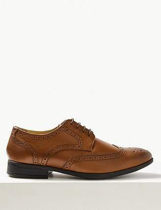 """Marks and Spencer Leather Brogue Shoes with Airflexâ""""¢"""