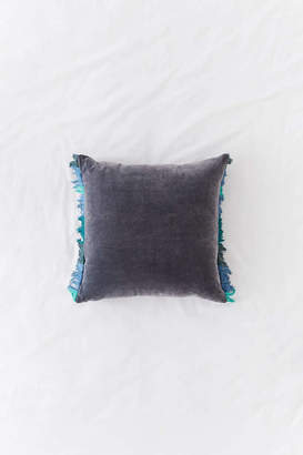 Veronica Velvet Fringe Throw Pillow