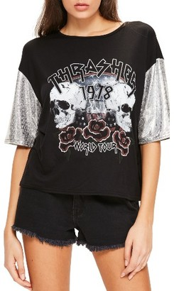 Women's Missguided Thrasher Tee $46 thestylecure.com