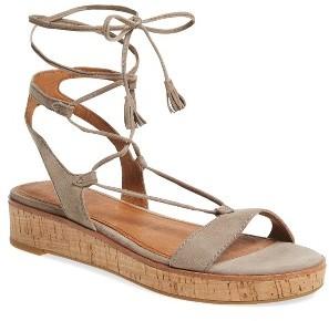 Women's Frye Miranda Gladiator Platform Sandal $227.95 thestylecure.com