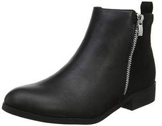New Look 915 Girls Cuba Ankle Boots (Black 1), (40 EU)
