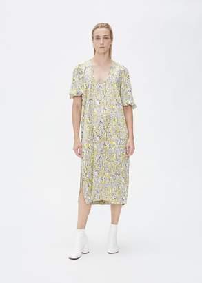 Ganni Short Sleeve Shift Dress
