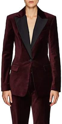 A.L.C. Women's Steele Silk-Trimmed Velvet One-Button Blazer