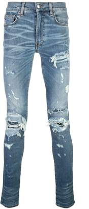 Amiri skinny distressed jeans