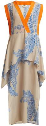 Fendi Ramage floral-print silk-crepe kaftan