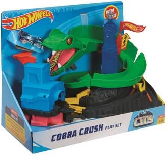 Hot Wheels Cobra Crush Play Set