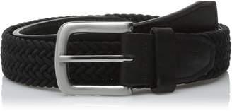 Haggar Men's 30MM Stretch Web Belt
