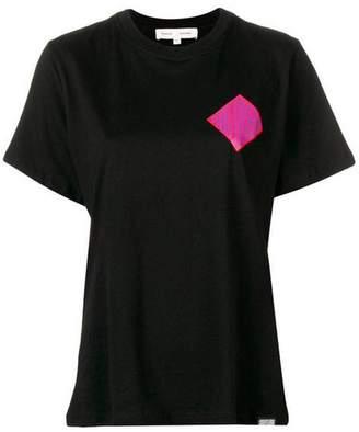 Proenza Schouler Pswl Diamond Crest Cotton-jersey T-shirt