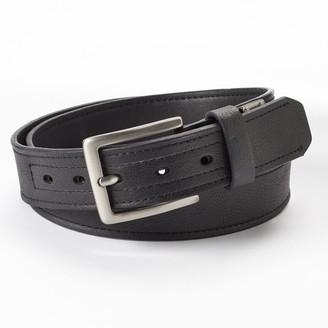 Dickies Men's Industrial Strength Leather Work Belt