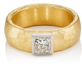 Malcolm Betts Women's Wide-Band Ring-Gold