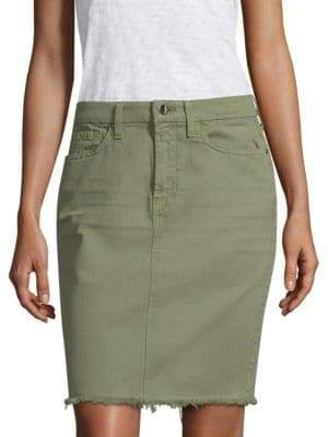 7 For All Mankind Jen7 by Military Pencil Skirt
