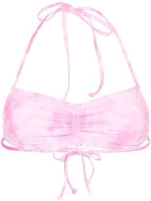Frankie's Bikinis Frankies Bikinis x Sofia Richie Reed tie-dye bikini top