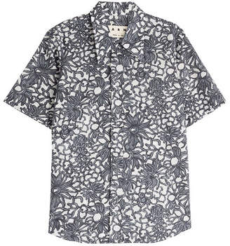 Marni Printed Cotton Shirt