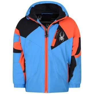 Spyder SpyderBlue & Orange Mini Leader Jacket