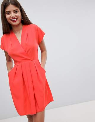 Orange Skater Dress - ShopStyle UK 778b18a26