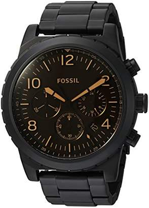 Fossil Mens CH3070 Oakman Chronograph Stainless Steel Watch