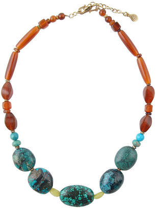 Artsmith BY BARSE By Barse Womens Genuine Multi Color Beaded Necklace